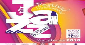 Zacatecas será la sede del Festival Internacional de Jazz & Blues