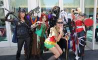 Superhéroes y alienígenas en  la Comic-Con