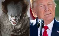 "Payaso de ""It"" es comparado con el presidente Trump"