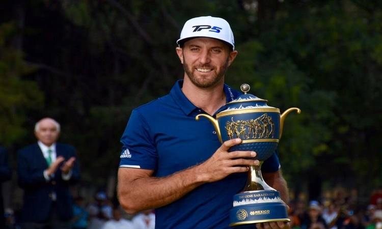 Dustin Johnson se llevó el World Golf Championships de la CDMX