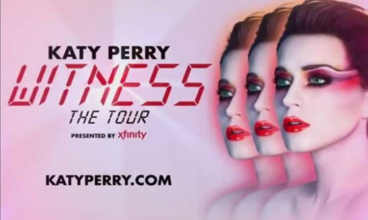 "Katy Perry trae su gira ""Witness: The Tour"" a México"