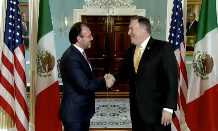 Videgaray se reúne con Michael Pompeo en Washington