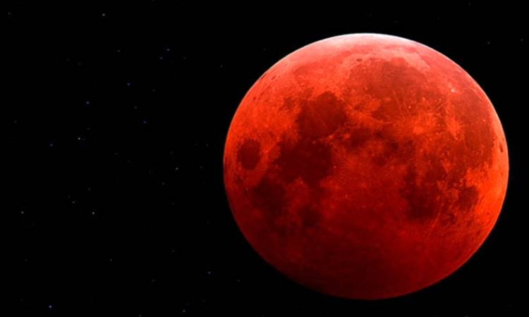 Superluna roja con eclipse el 31 de enero